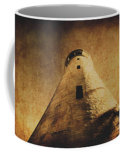 Parchment Paper Lighthouse Coffee Mug
