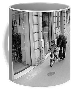 Paris Bike Lesson II Coffee Mug