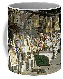 Paris Bookseller Stall Coffee Mug
