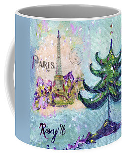 Paris Christmas Coffee Mug