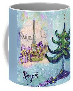 Paris Christmas Coffee Mug