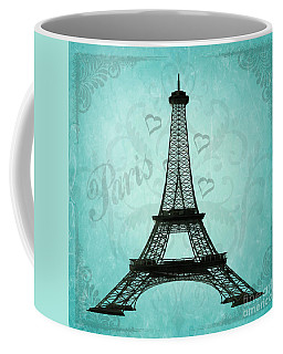 Paris Collage Coffee Mug
