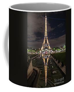 Paris Eiffel Tower Dazzling At Night Coffee Mug