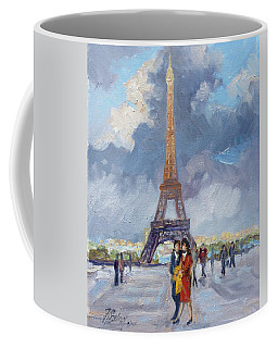Paris Eiffel Tower Coffee Mug