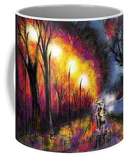 Paris Evening Coffee Mug by Darren Cannell
