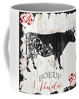 Paris Farm Sign Cow Coffee Mug