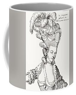 Paris Fashion, 1776 Coffee Mug
