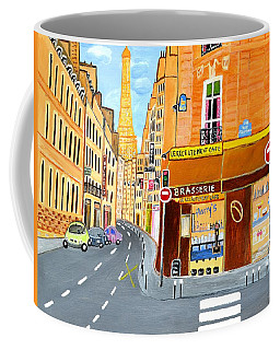 Paris France, Rue St. Dominique Coffee Mug