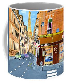 Paris France, Rue St. Dominique Coffee Mug
