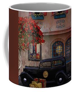 Coffee Mug featuring the digital art Paris In Spring by Jeff Burgess