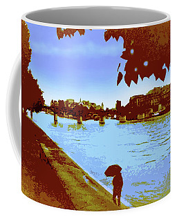 Paris In The Rain Coffee Mug