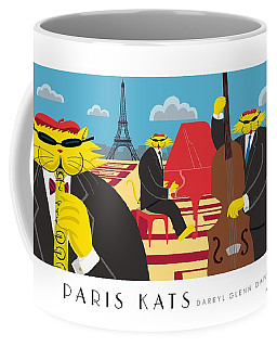 Paris Kats Coffee Mug