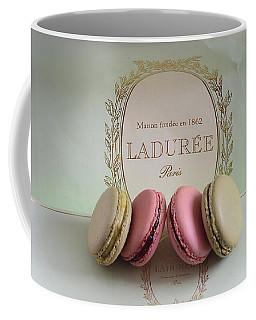 Paris Laduree Mint Box Of Macarons - Paris French Laduree Macarons  Coffee Mug by Kathy Fornal
