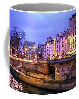 Paris Lights At Night Coffee Mug