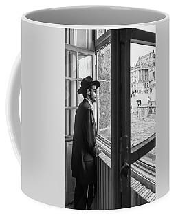 Paris Man In Muesum Coffee Mug