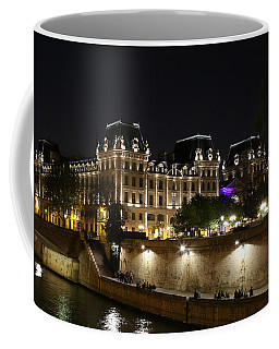 Coffee Mug featuring the photograph Paris Police Headquarters by Andrew Fare