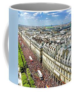 Paris Pride March 2018 Coffee Mug