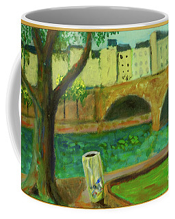 Coffee Mug featuring the painting Paris Rubbish by Paul McKey