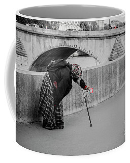 Parisian Beggar Lady Coffee Mug