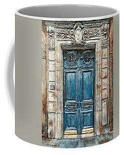 Parisian Door No. 3 Coffee Mug