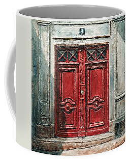 Parisian Door No.9 Coffee Mug