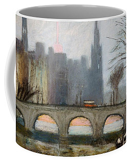 Coffee Mug featuring the painting Parisian Gray by Gary Coleman