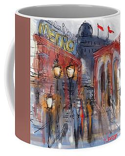 Parisian Street Coffee Mug