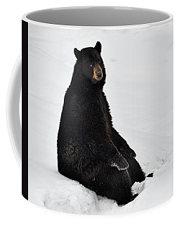 Coffee Mug featuring the photograph Park Bench by Tony Beck