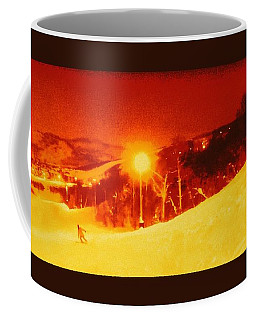 Coffee Mug featuring the photograph Park City Gold by Richard W Linford