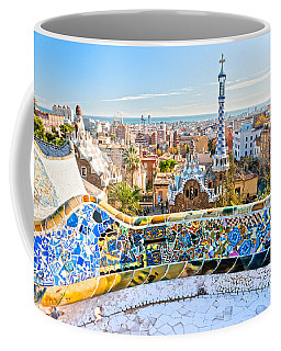 Park Guell Barcelona Coffee Mug by Luciano Mortula