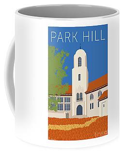 Park Hill Blue Coffee Mug