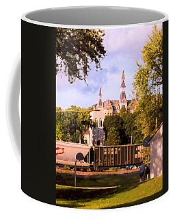 Coffee Mug featuring the photograph Park University by Steve Karol
