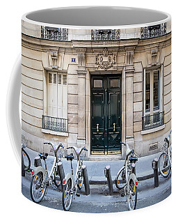 Paris Bicycles - Paris, France Coffee Mug