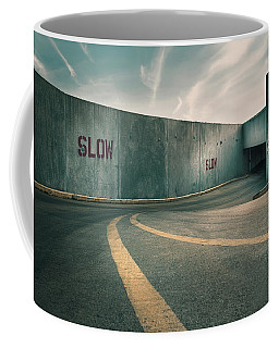 Parking Garage At The End Of The World Coffee Mug