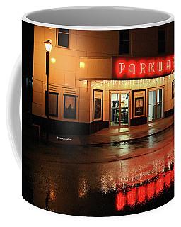 Parkway Night Coffee Mug by Dale R Carlson