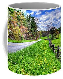 Parkway Spring Coffee Mug by Dale R Carlson