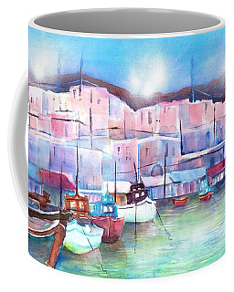 Greek Island Paros Naoussa Harbor Coffee Mug