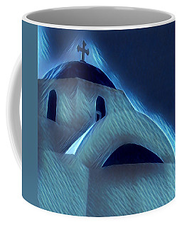 Paros Island Greece  Coffee Mug by Colette V Hera Guggenheim