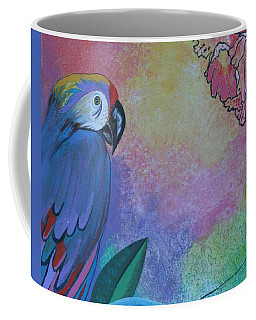 Parrot In Paradise Coffee Mug