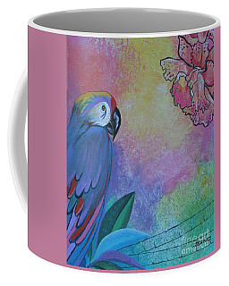Parrot In Paradise Coffee Mug