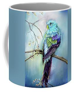 Parrot Coffee Mug by Loretta Luglio