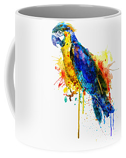 Parrot Watercolor  Coffee Mug