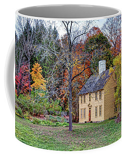 Parson Barnard House In Autumn Coffee Mug