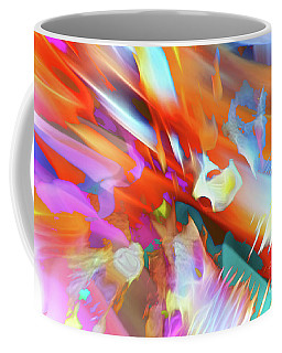 Coffee Mug featuring the digital art Part Of The Process by Margie Chapman