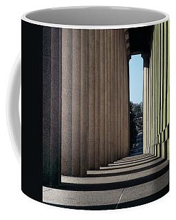 Parthenon Shadow Tunnel Coffee Mug