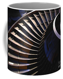Partial View Of Jet Engine Coffee Mug