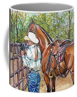 Partners Coffee Mug by Stephanie Come-Ryker