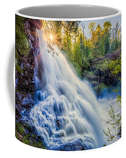 Partridge Falls In Late Afternoon Coffee Mug