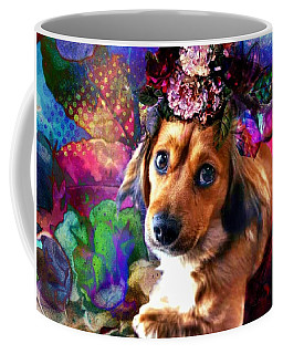 Coffee Mug featuring the digital art Party Animal by Delight Worthyn