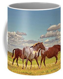 Party Of Three Coffee Mug